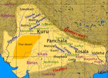 Saraswati River Map Sarasvati River   Wikipedia