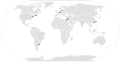 Map of Wikimania locations.svg
