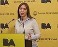 María Eugenia Vidal en conferencia de prensa luego de la reunión de gabinete (7455861830).jpg