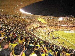 English: A view to Maracanã Stadium in Rio de ...