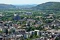 Marburg vom Schloss aus, Affenfelsen.jpg