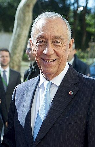 Marcelo Rebelo de Sousa - Image: Marcelo Rebelo de Sousa em fevereiro de 2018