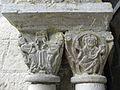 Marcilhac-sur-Celé (46) Abbaye Salle capitulaire Chapiteau 01.JPG
