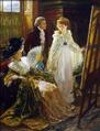 Margaret Dicksee Miss Angel 1892.png