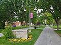 Margaret Sinclair Alumni Walk, College of Idaho.jpg