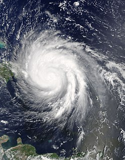 Effects of Hurricane Maria in Puerto Rico Storm hit on September 20, 2017