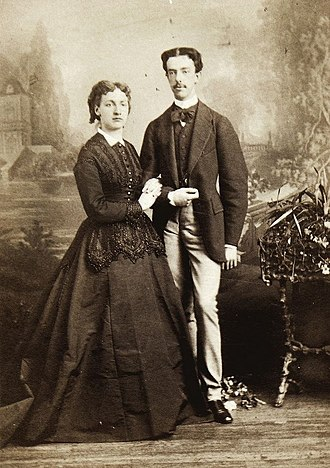 Maria Vittoria dal Pozzo - With her husband, the King of Spain.