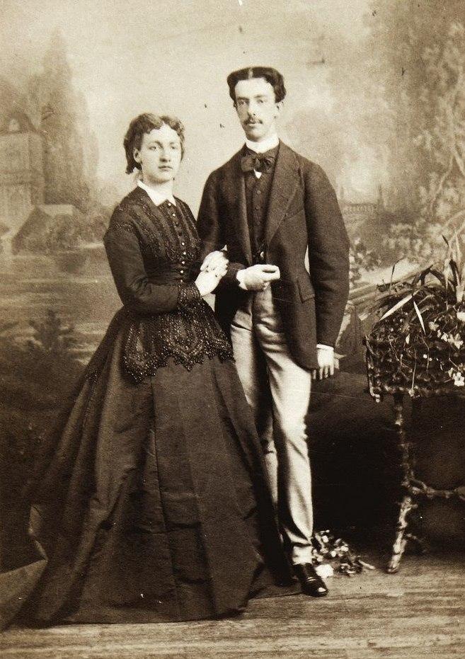 Maria Vittoria dal Pozzo with her husband