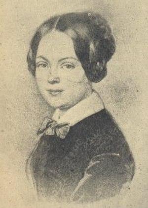 Marie von Ebner-Eschenbach - Marie von Ebner Eschenbach in 1840s