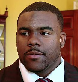 Mark Ingram, Jr. at the White House 2010-03-08 3.jpg