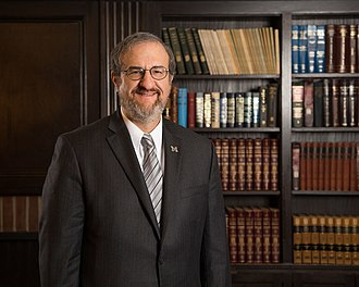President of the University of Michigan - Image: Mark Schlissel University of Michigan