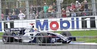 2006 Australian Grand Prix - Mark Webber led his home race for Williams