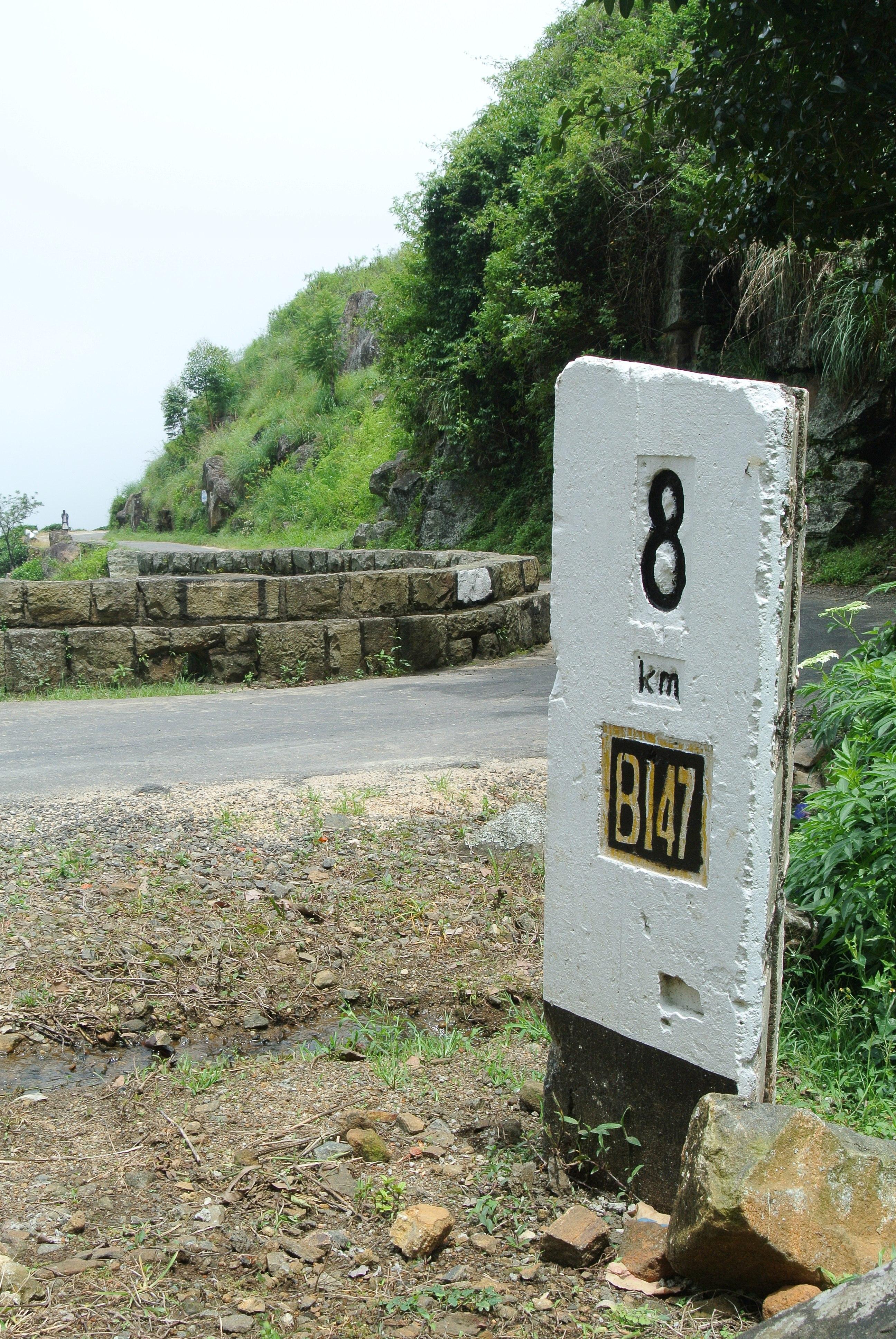 File:Marker on Highway B147 in Sri Lanka JPG - Wikimedia Commons
