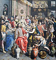 Marriage at Cana (Maerten de Voos) July 2015-1a.jpg