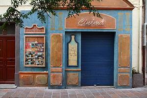 Plus belle la vie - A movie theater in the Panier district of Marseille, inspired by Plus Belle la Vie