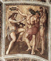 Raffaello Sanzio: Apollo e Marsia