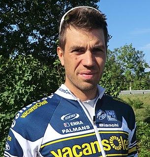 Martijn Keizer Dutch cyclist