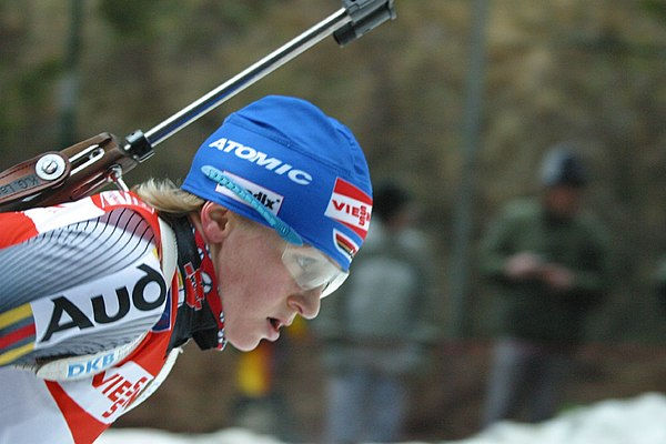 Martina Beck w Antholz (2006)