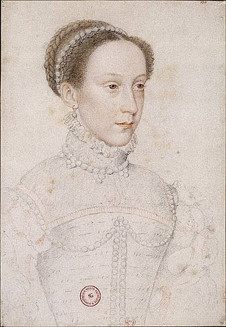 Rough Wooing - The infant Mary, Queen of Scots (shown here as an older girl) was the focus of the 'Rough Wooing'.