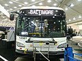 Maryland Transit Administration Xcelsior XDE60 articulated bus, coach number 12081, February 2013.jpg
