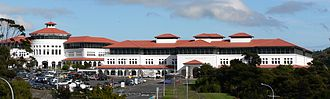 Massey University - Part of Massey University's Albany Campus in 2005