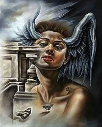 Matías Argudín -Petrificación de un Angel-