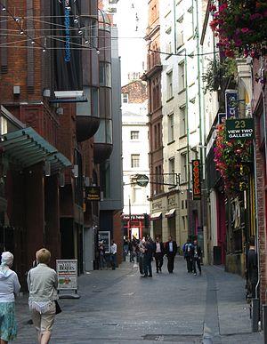 Mathew Street Liverpool