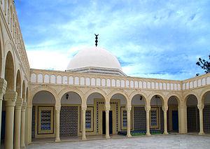 Al-Maziri - Tomb of Imam al-Maziri in Monastir, Tunisia.