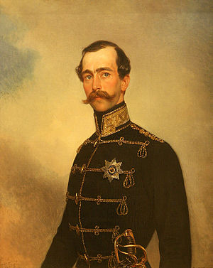 Maximilian de Beauharnais, 3rd Duke of Leuchtenberg - Portrait by Karl Briullov, 1849