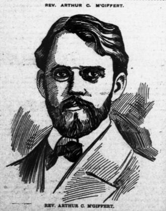 Arthur Cushman McGiffert - Arthur McGiffert in The Broad Ax on May 14, 1900