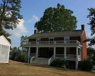 McLean House (Appomattox, Virginia) -  Reconstructed McLean house in 2008