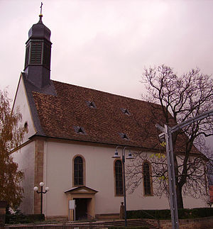 Meckenheim, Rhineland-Palatinate - Catholic church