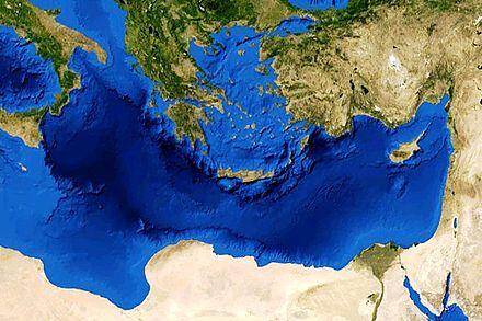 Mare Mediterraneo Cartina.Mar Mediterraneo Wikiwand