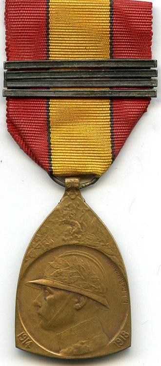 Commemorative Medal of the 1914–1918 War - 1914–1918 Commemorative War Medal (obverse)