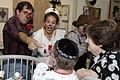 Medical clown Hilary Chaplain at Shaare Zedek hospital No.081 - Flickr - U.S. Embassy Tel Aviv.jpg