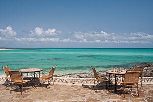 Quirimbas Islands - Image: Medjumbe Island Pool Deck
