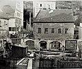 Meissen Malerwinkel Schlossberg 12 um 1970 Abriss.jpg