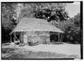 Melrose Plantation, African House, State Highway 119, Melrose, Natchitoches Parish, LA HABS LA,35-MELRO,1B-6.tif