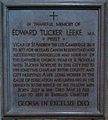 Memorial to Edward Tucker Leeke in Lincoln Cathedral.jpg