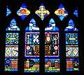 Memorial window to Julian Berry, Tunworth Church - geograph.org.uk - 1759157.jpg
