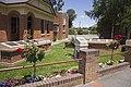 Memorials next to the Visitor Information Centre in Queanbeyan.jpg