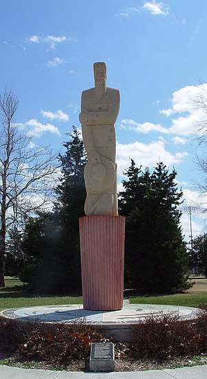 National Register of Historic Places listings in Kansas - Mennonite Settler Statue