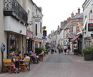 Mer, Loir-et-Cher - Image: Mer centre ville