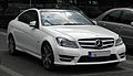 Mercedes-Benz C 250 CDI BlueEFFICIENCY Coupé Edition 1 (C 204) – Frontansicht, 2. Juli 2011, Düsseldorf.jpg