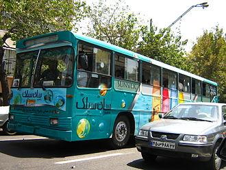 Environmental issues in Iran - Car vs public transport in Tehran