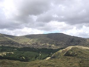 Lists of mountains and hills in the British Isles - Merrick is both a Corbett and a Donald