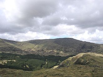 Lists of mountains and hills in the British Isles - Merrick in the Southern Uplands, is both a Corbett and a Donald
