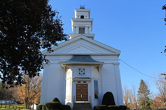 National Register of Historic Places listings in Delaware County, New York - Image: Methodist Church, Bloomville, NY