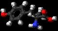 Metirosine molecule ball.png