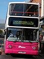 Metro (Belfast) bus 2964 (TCZ 9964) 2003 Volvo B7TL Transbus ALX400, 4 October 2007.jpg